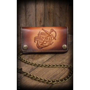 Rumble59 Leder Wallet Handmade Hold Fast