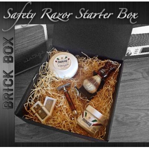 Brick Box - Safety Razor Starter Box