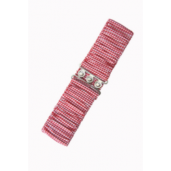 Banned Vichy Red Belt