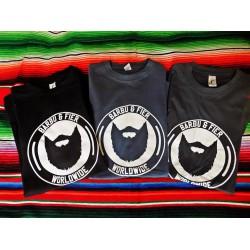Barbu & Fier Tshirt Worldwide Gris Anthracite