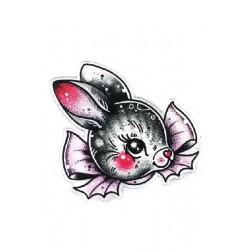 Bunny Bun Mini Pin