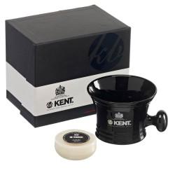 Kent Mug rasage noir & savon