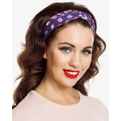 Lindy Bop Cupcake Turban Headband