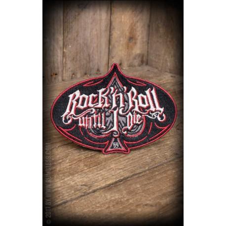 Rumble59 Patch Rock'n'Roll Until I Die