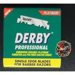 Derby Premium - 100 Single Edge Blades