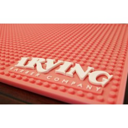 Irving Barber Company Workstation Mat Pink