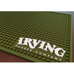 Irving Barber Company - Workstation Mat Cammo Green
