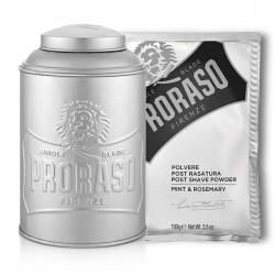 Proraso - Set Pourdre après-rasage et distributeur
