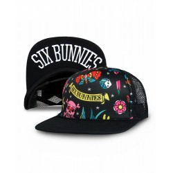Six Bunnies Snapback Cute Flash