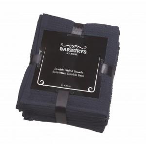 Barburys - Serviettes Double-Face - Noir