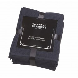 Barburrys - Serviettes Double-Face - Noir