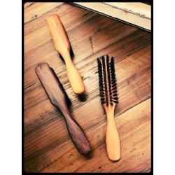 Dandy Rebelz Beard & Hair Brush With Handle