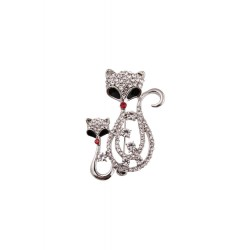 Collectif Fancy Cat Brooch