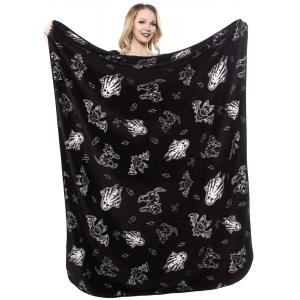 Sourpuss Spooky Blanket