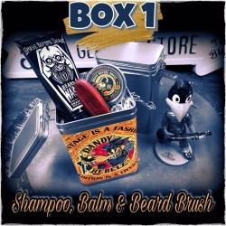 Dandy Rebelz Beard Box With Balm