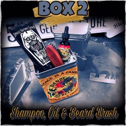 Dandy Rebelz Beard Box With Oil