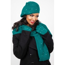 Voodoo Vixen Twinkle Teal Winter Set