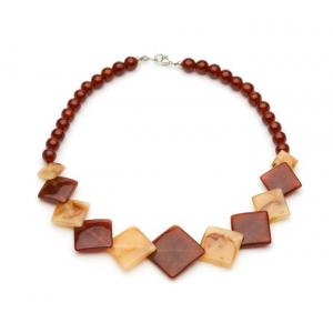Golden Chocolate Fakelite Beads