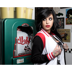 Sourpuss Jacket Varsity Hell