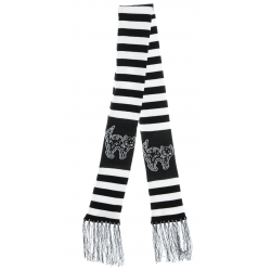 Sourpuss Creep Heart Cat Scarf