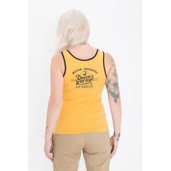 Queen Kerosin Tank Top Speedway Mustard