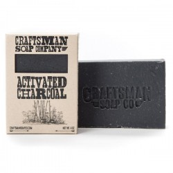 Craftsman Soap Co - Activated Charcoal Vegan Soap