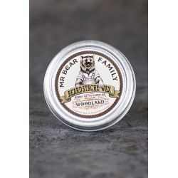 Mr. Bear Family Beard Stache Wax Woodland