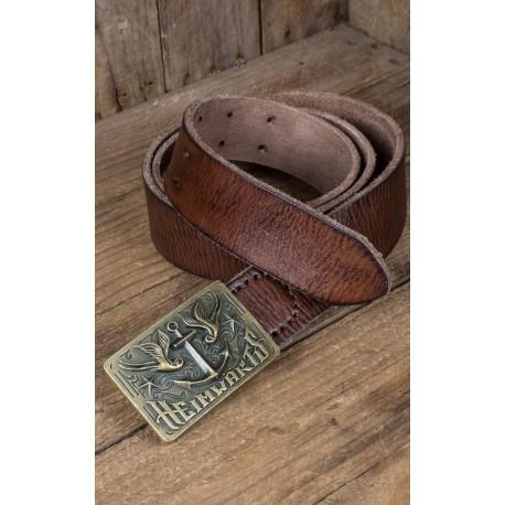 Rumble59 Leather Belt With Buckle Heimwärts