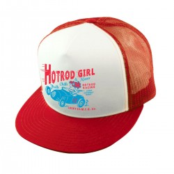 Lucky 13 The Hot Rod Girl Trucker Cap