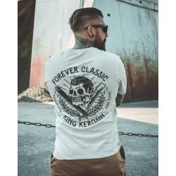 King Kerosin Tshirt Oldschool Barbershop