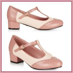 Lulu Hun Georgia Derbies Pink