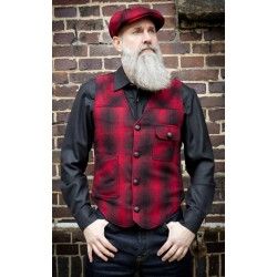 Rumble59 Vintage Vest Boston Plaid