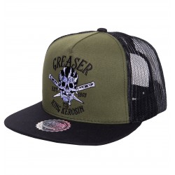 King Kerosin Trucker Cap Greaser