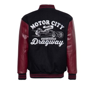 King Kerosin Baseball Jacket Motor City