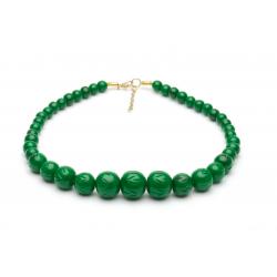 Fern Fakelite Bead Necklace