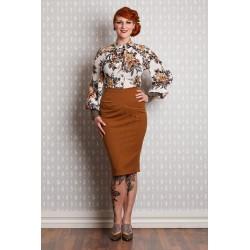 Miss Candyfloss 50's Emese Doris Pencil Skirt