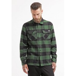 Dickies Sacramento Flannel Chemise Pine Green