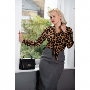 Dancing Days Leopard Lady Blouse