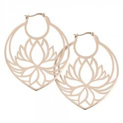 Wildcat Steel Roseline Lily Hoops Lotus
