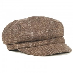 Banned Newsboy Cap Taupe