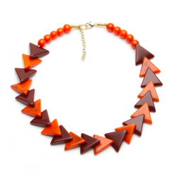 Fox Fakelite Triangle Necklace