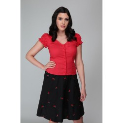 Collectif Sofia Top Red