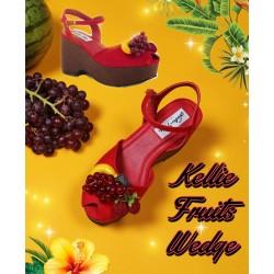 Lulu Hun Kellie Fruits Wedge