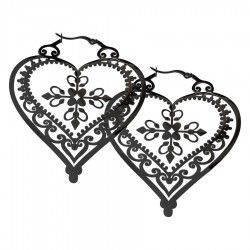 Wildcat Steel Blackline Heart Royal Hoops