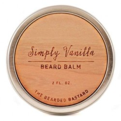 The Bearded Bastard Simply Vanilla Beard Balm
