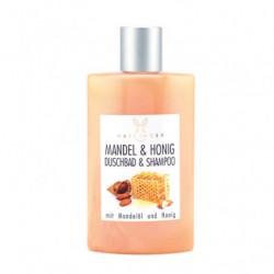 Haslinger Gel Douche & Shampoing Amande Miel