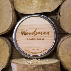 The Bearded Bastard Woodsman Beard Balm