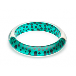 Jade Leopard Bangle