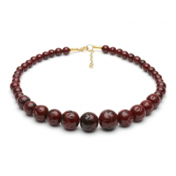 Mouse Fakelite Beads Necklace
