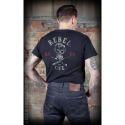 Rumble59 TShirt Rebel For Life